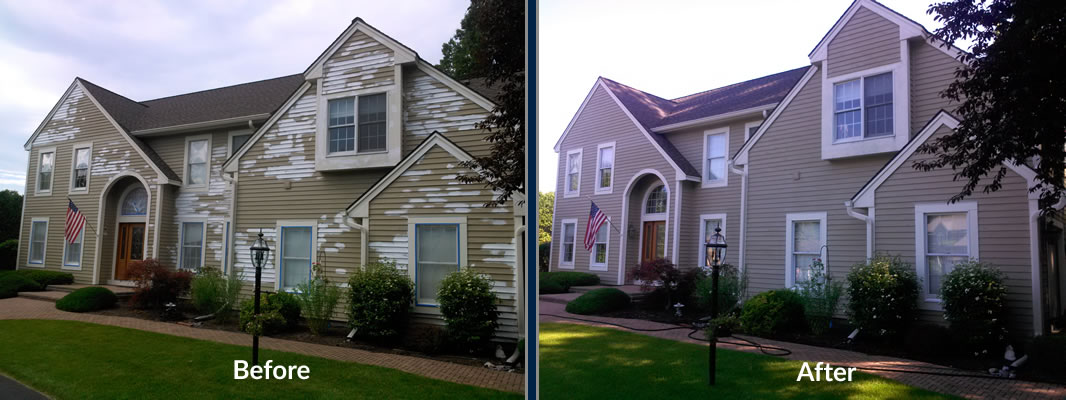House exterior painters indianapolis white 39 s painting and power washing - Exterior home painters ...