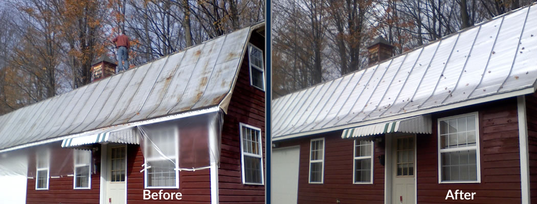 metal roof painting contractor indianapolis indiana