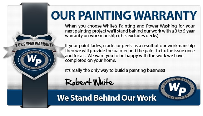 Whites Painting Warranty