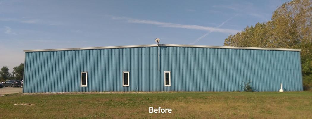 metal-building-exterior-before