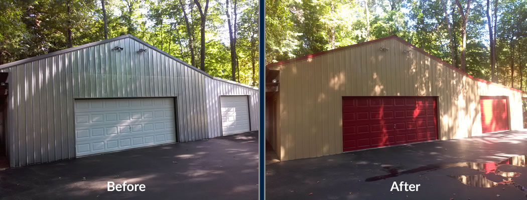 Metal Building Painting Central Indiana White S Painting